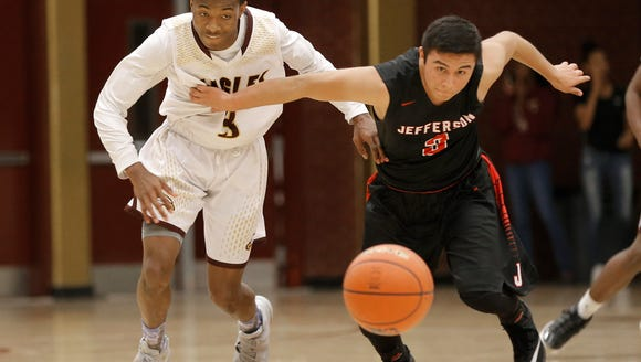 Andress defeated Jefferson Tuesday night 64-39 at The