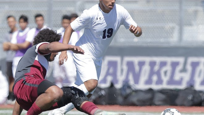Franklin defeated Midland Lee and Fort Worth Pascal to advance to the Class 6A regional quarterfinals in boys soccer.