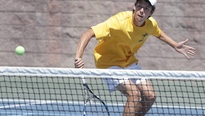 Coronado's David Cenk was one of the top tennis players on the high school level this season.