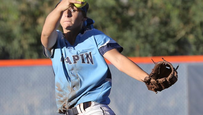 Chapin pitcher Kristin Fifield got the win for the Huskies 3-1 over Eastlake Thursday at UTEP.