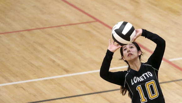 Eastwood and Loretto Academy played earlier this season