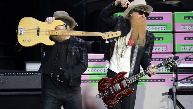 ZZ Top opens for the Guns N' Roses 'Not in this Lifetime' tour at Sun Bowl Stadium Wednesday night.