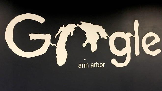 A Google office in Ann Arbor on Sept. 21, 2017.