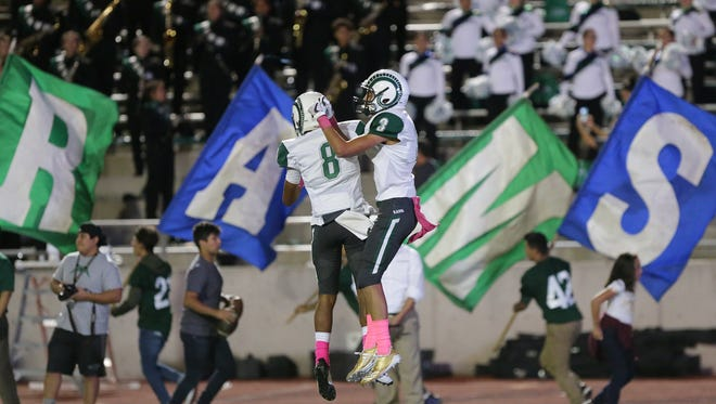 The Rams and Aztecs put up some big numbers Friday but it was Montwood 61-41 in the end.