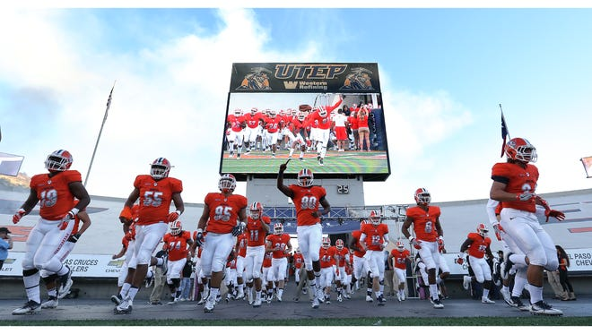 UTEP takes the field to take on Western Kentucky Saturday at the Sun Bowl.