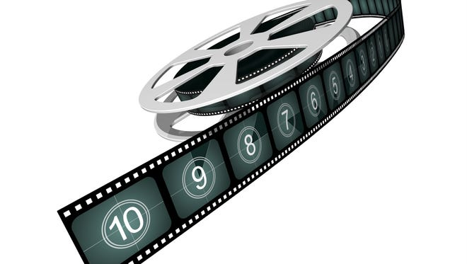 Film reel with countdown numbers for the East Lansing Film Festival