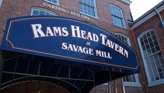 Rams Head Tavern at Savage Mills, Maryland