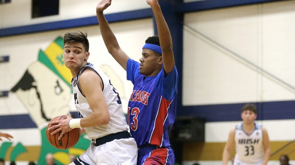 Las Cruces defeated Cathedral High School 60-42 Tuesday night at Cathedral.