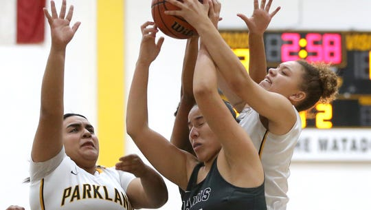 Parkland defeated Hanks Tuesday night 57-49 at Parkland