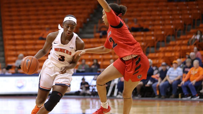 The UTEP women dropped their first game of the season to UNM Thursday 59-35 at the Don Haskins Center.