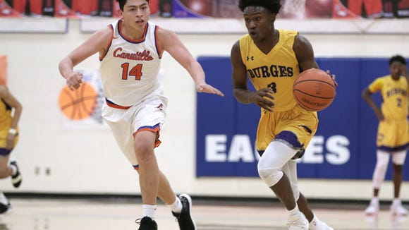 Canutillo and Burges face off on the hardwood Tuesday