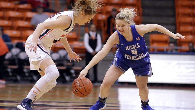 UTEP falls to Middle Tennessee 54-45 on Saturday at the Don Haskins Center.