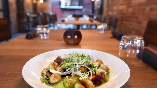 Sweet Pea Gnocchi from Revival Social Club.