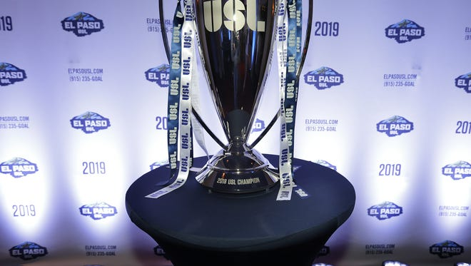 The USL Cup was on display at the Philanthropy Theatre, where MountainStar Sports announced an expansion team is coming to El Paso in 2019.