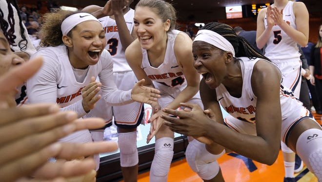 UTEP closed out their regular season with an 80-75 win over Western Kentucky at the Don Haskins Center Saturday.