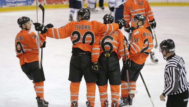 The El Paso Rhinos make easy work of the Dallas Snipers in their playoff series in El Paso.
