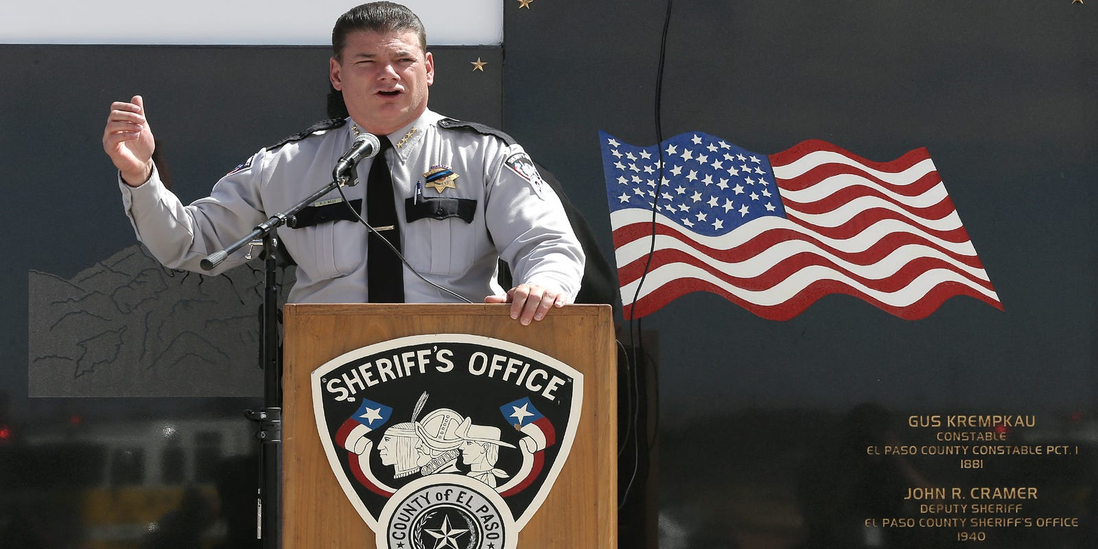 Three veteran law enforcement officers vie for El Paso County sheriff seat