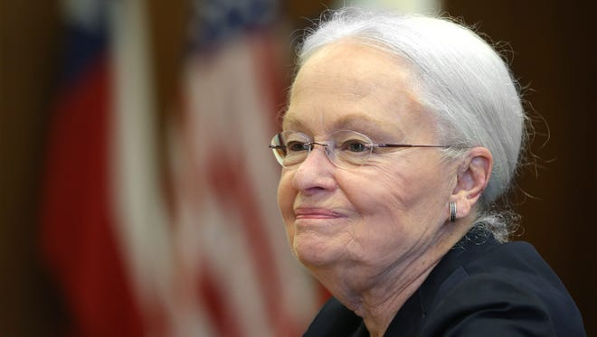 UTEP President Dr. Diana Natalicio discusses her decision to retire after 30 years as president. She will remain until a successor has been found, which could take several months.