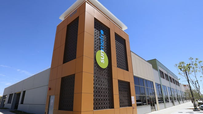 Some of the retail space available at the new Arves E. Jones Sr. Transit Center in northeast El Paso.