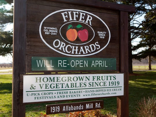 Fifer Orchards' Country Store opens today.