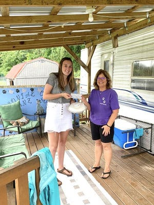 Ava LuQuire has been baking pies for a couple of years now and most recently gave the Colonial Capital Humane Society a $500 donation from the sale of her pies. She has also given $500 to RCS from the sale of her pies. Her unofficial, but official, business name is The Baking Flower on IG @thebakingflower. Ava and her mother, Shannon, have been encouraging people to buy pies to either get for themselves or to gift to health care workers, hospitality workers, teachers and staff at other non-profits. It has been a way for Ava to grow a passion, learn some important marketing and business skills and see how great people can feel when they give to others. She's also earning service hours at school as part of her National Honor Society requirements.