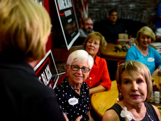 Tennessee governor candidate Diane Black speaks to