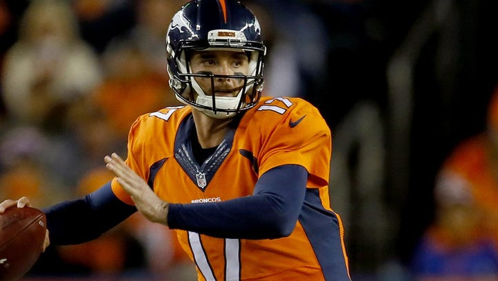 Denver quarterback Brock Osweiler might be headed for unrestricted free agency.