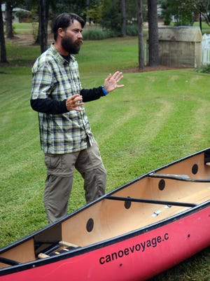Keith Lynch left Twin Bridges, Montana in June on a 4,000-mile canoe trip that will take him home to Dallas. Lynch arrived in Pineville on Friday and will spend the weekend in Central Louisiana.