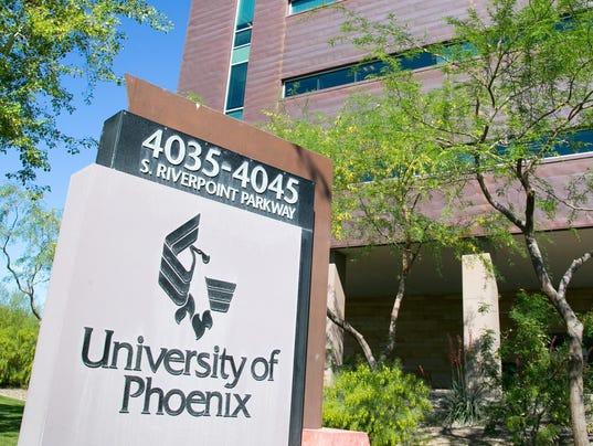 University of Phoenix enrollment