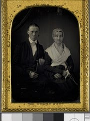 Rowland Thomas Robinson (1796-1879) and Rachel Gilpin Robinson (1799-1862) circa 1856.