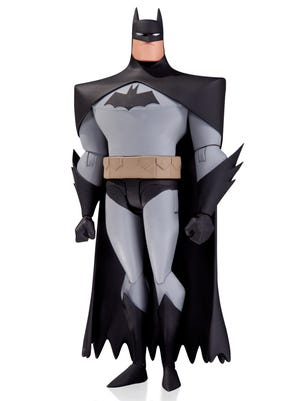 "A 6-inch Dark Knight action figure based on ""The New Adventures of Batman"" is part of a new line this fall based on 1990s cartoons."