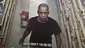 Scott police are looking for a man who allegedly threatened employees at a business on Westgate Road Feb. 7.