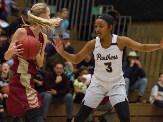Pine View Saraven Allen defends was named the Region 9 defensive MVP.