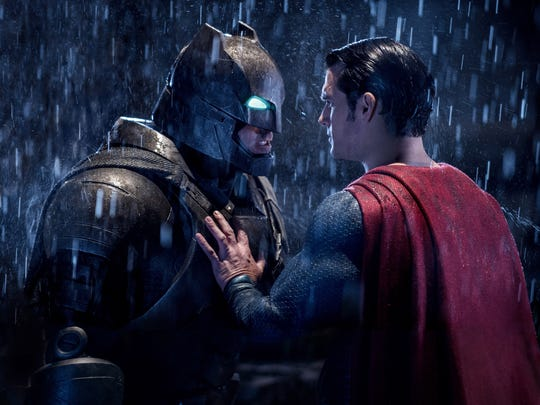 It's an epic battle for Ben Affleck and Henry Cavill