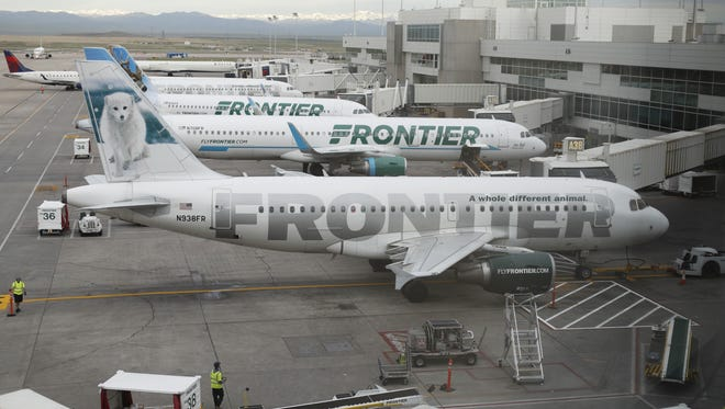 Frontier Airlines is adding flights from Sky Harbor Airport to two cities in Texas.