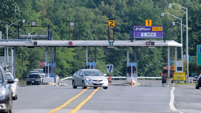 New York State Thruway photographed Monday, July 16, 2012, at in New Paltz. 7/16/12