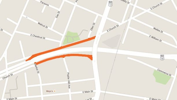 Two ramps will close for paving