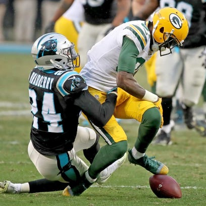 Green Bay Packers wide receiver Geronimo Allison (81)