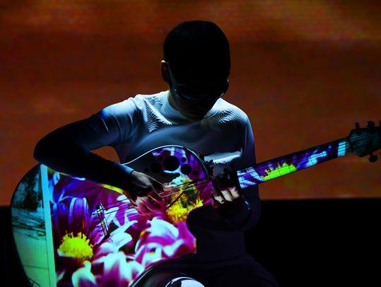 Master guitarist and composer Kaki King.