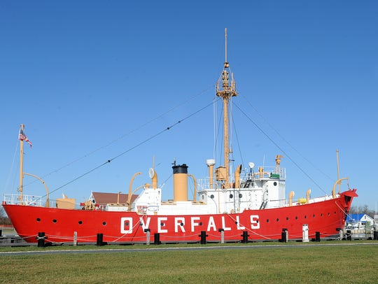 Photo by CHUCK SNYDER  1The Lightship Overfalls sits