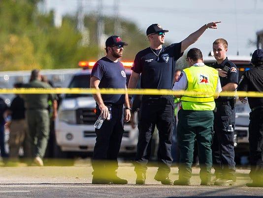 Sutherland Springs Texas shooting