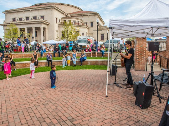 A look at the Carmel Farmers Market at the Center Green of the Carmel City Center on Saturday, May 5, 2018.