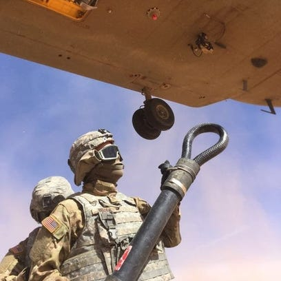 Fort Bliss soldiers prepare skills for downed aircraft recovery