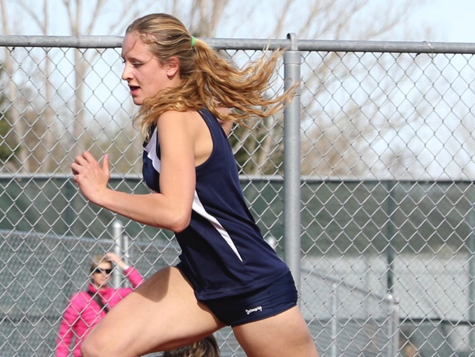 Liberty Common's Hannah Ellis has signed to run track at Black Hills State University in Spearfish, South Dakota.