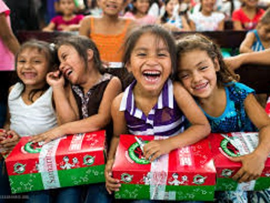 Christmas Shoebox.Operation Christmas Child Shoebox Gift Collection Runs Nov