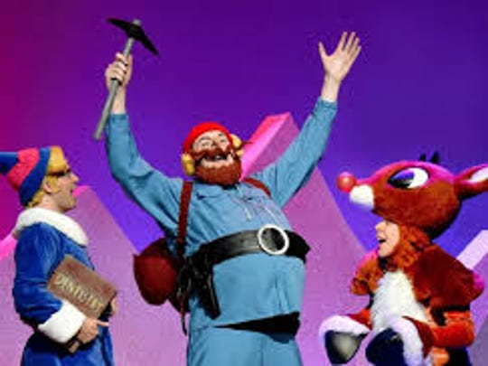 "The stage musical version of ""Rudolph the Red-Nosed Reindeer"""
