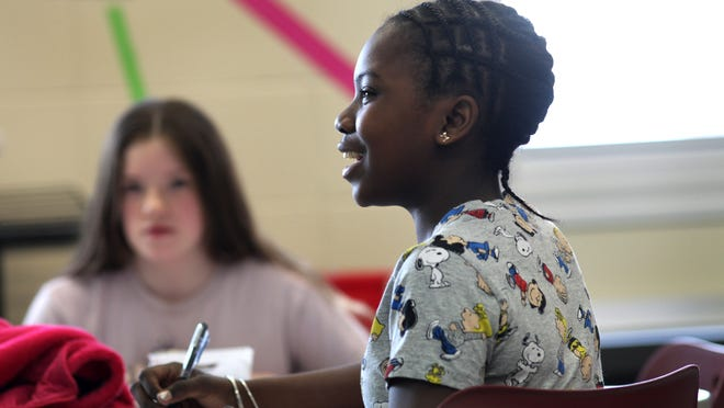 Samari Brown, a seventh-grader at Barker Road Middle School, has been in the Pittsford School district since first grade as part of the Urban-Suburban program.