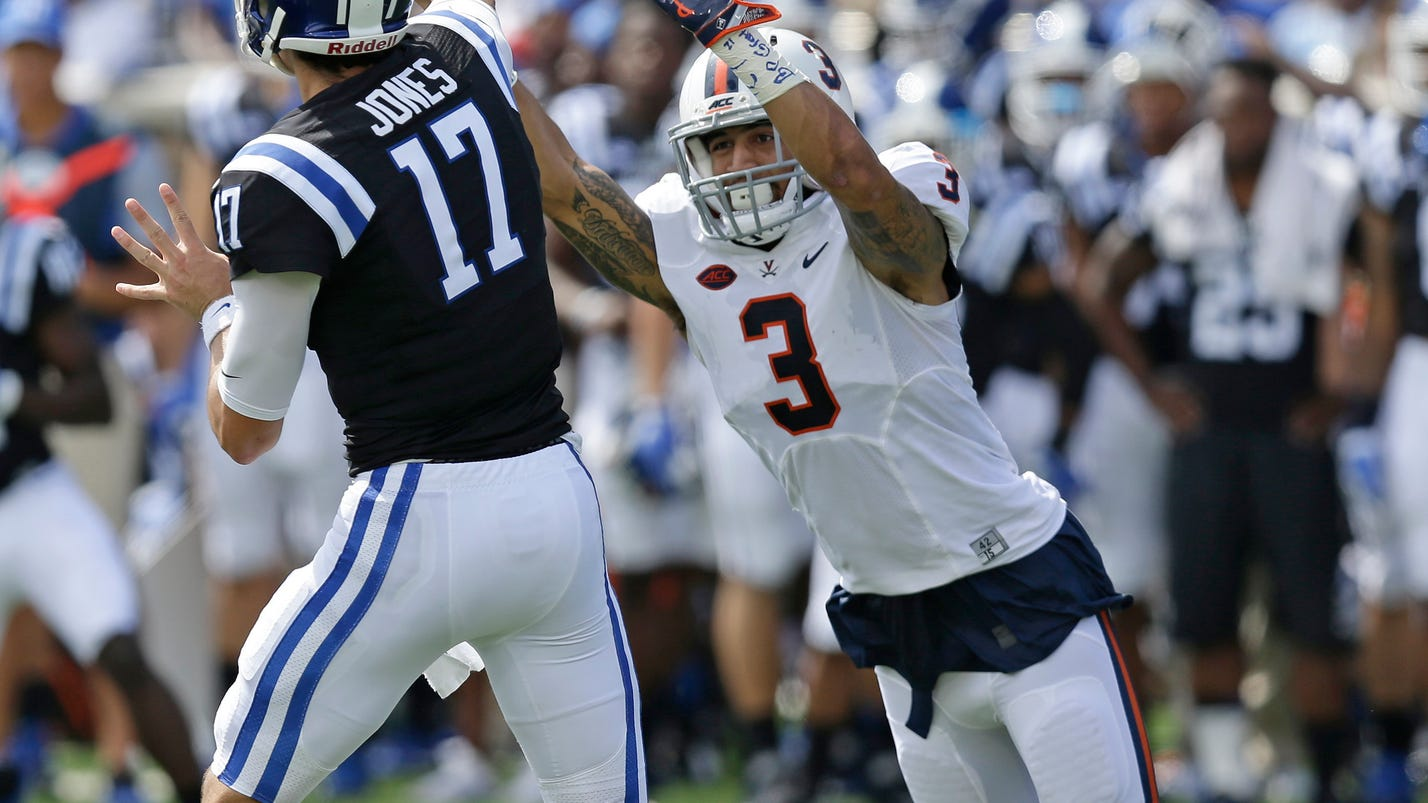 Virginia counting on QB Benkert to stay healthy, productive