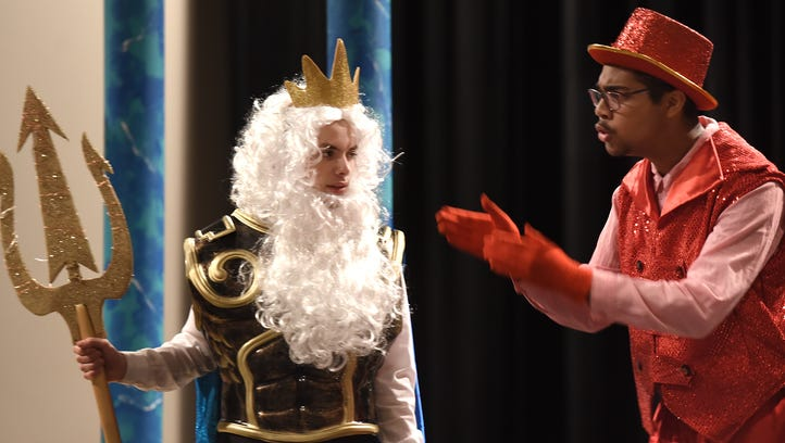 South Lyon East actors go under the sea for 'Mermaid'