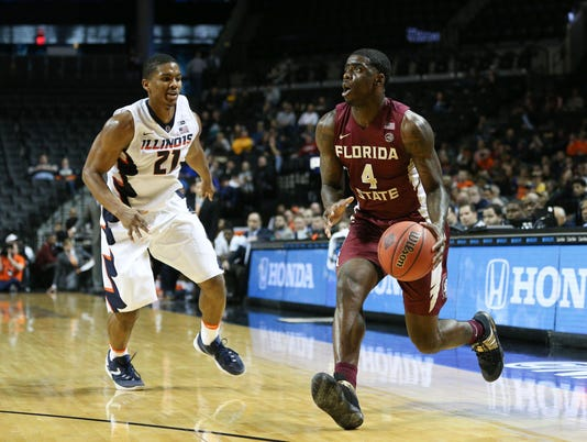 NCAA Basketball: NIT Season Tip-Off-Florida State vs Illinois